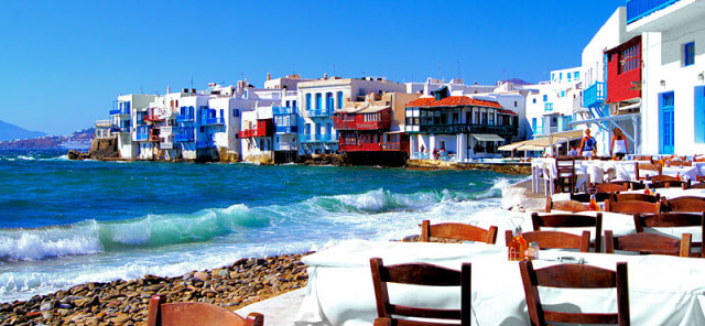 Pequeña Venecia de Mykonos